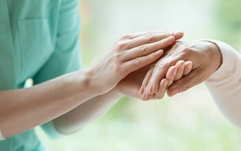 Home Care — Hand caring for elder in Columbia, SC